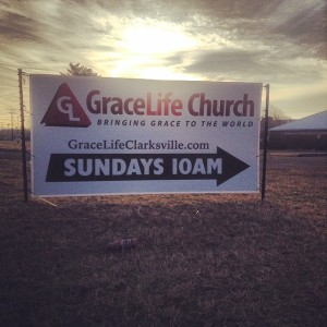 GraceLife sign